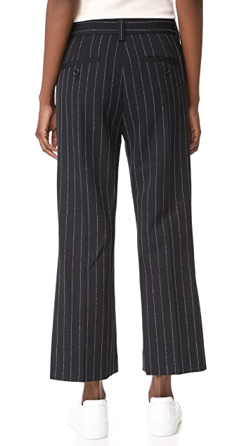 Marc Jacobs Stripe Cropped Pants