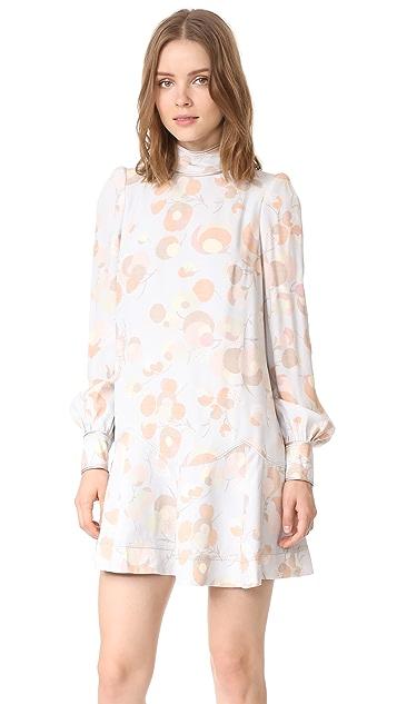 Marc Jacobs Bishop Sleeve Mini Dress