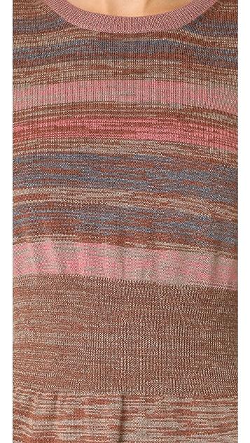 Marc Jacobs Multi Stripe Sweater Dress