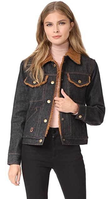 Marc Jacobs Cropped Denim Jacket