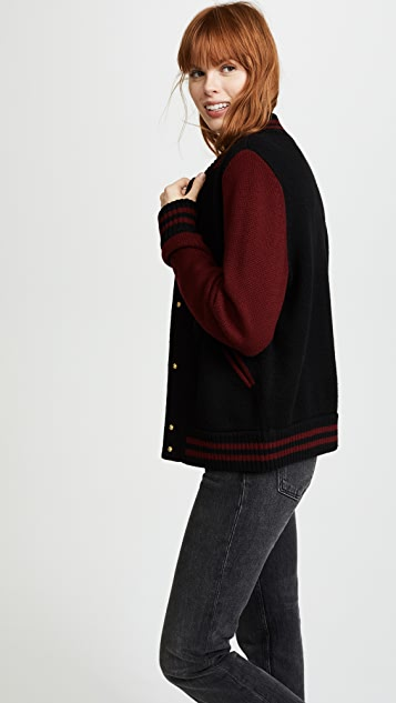 Marc Jacobs Varsity Sweater Jacket