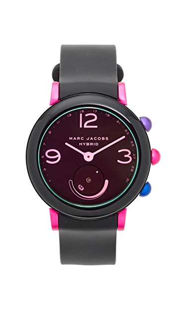 The Marc Jacobs Riley Hybrid Tech Watch, 43mm
