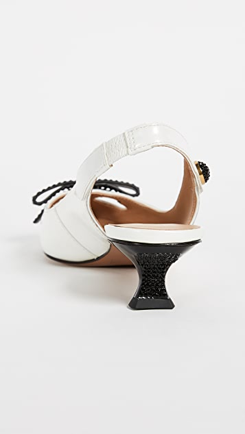 The Marc Jacobs Abbey Slingback Pumps
