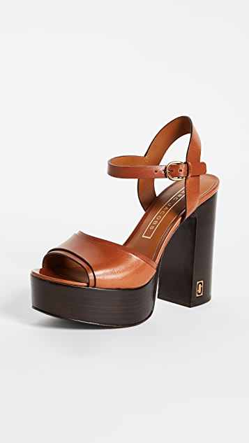 Marc Jacobs Lust Status Platform Sandals ...