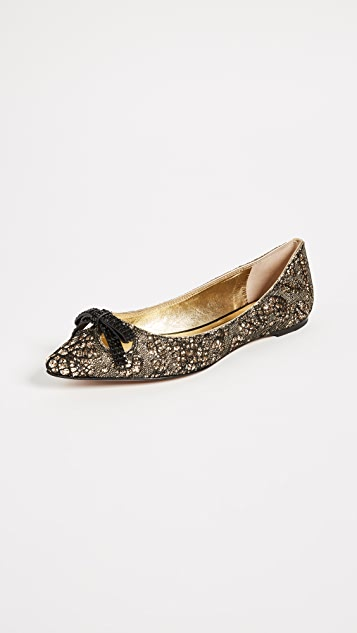 Marc Jacobs Jaime Pointy Toe Flats