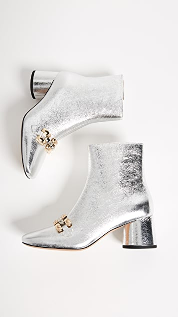 Marc Jacobs Remi Chain Link Ankle Booties