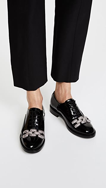 Marc Jacobs Dara Chain Link Oxfords