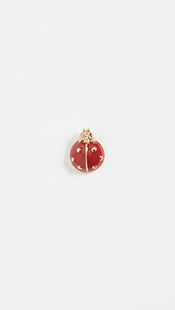 Marc Jacobs Ladybug Single Stud Earring