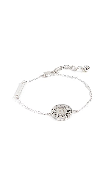 Marc Jacobs Medallion Chain Bracelet