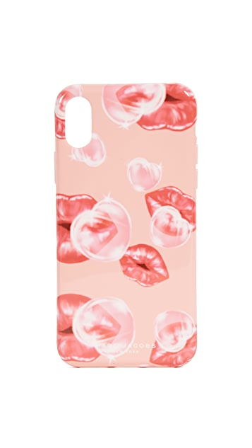 Marc Jacobs Lips Printed iPhone X / iPhone 8 Case