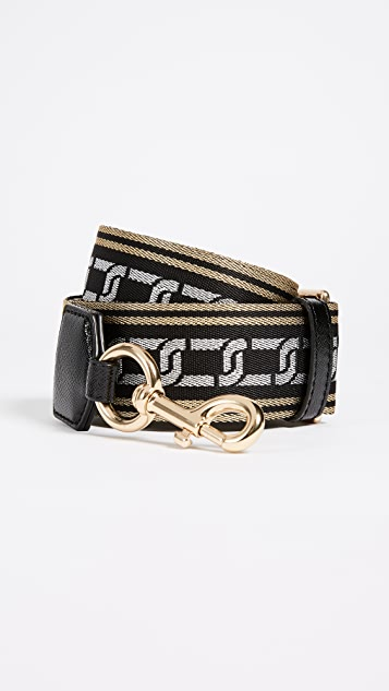 Marc Jacobs Metallic Chain Motif Strap