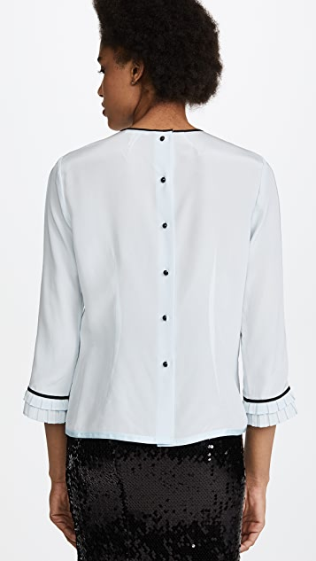 Marc Jacobs Pintuck Blouse