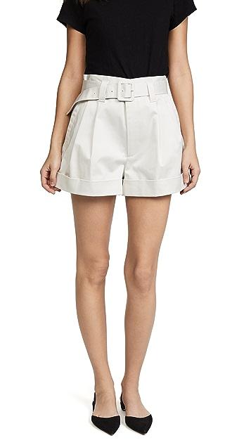 Marc Jacobs Pleated High Waist Shorts