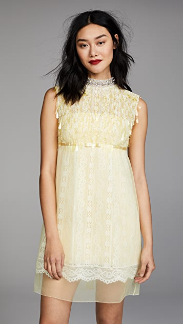 Marc Jacobs Mock Neck Dress