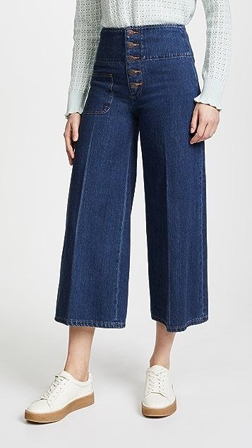 The Marc Jacobs Wide Leg Jeans