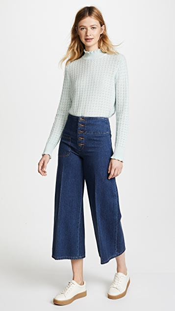 Marc Jacobs Wide Leg Jeans