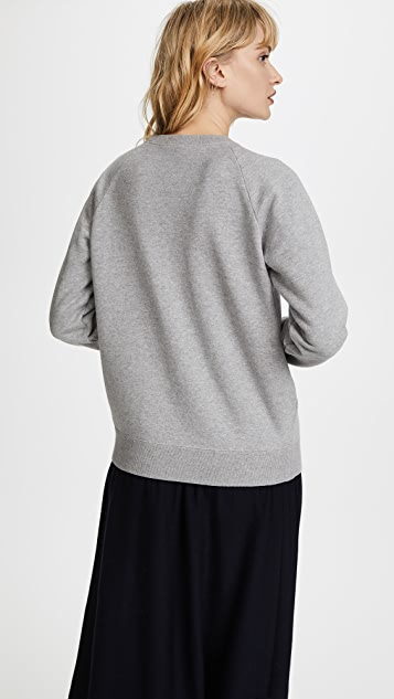 Marc Jacobs Shrunken Raglan Sweatshirt