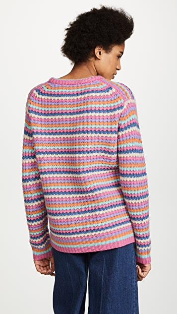 Marc Jacobs Long Sleeve V Neck Sweater