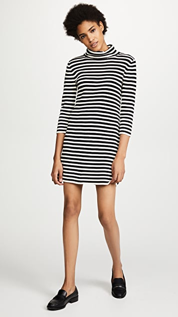Marc Jacobs Long Sleeve Cowl Neck Dress