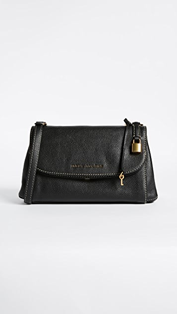 Marc Jacobs Boho Grind Shoulder Bag - Black/Gold