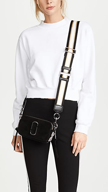 Marc Jacobs Snapshot Pave Chain Cross Body Bag