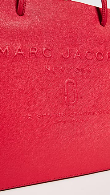 Marc Jacobs Logo Shopper Tote