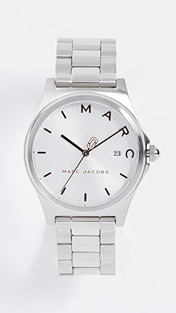 Marc Jacobs Henry Tech Watch, 36mm - Stainless Steel