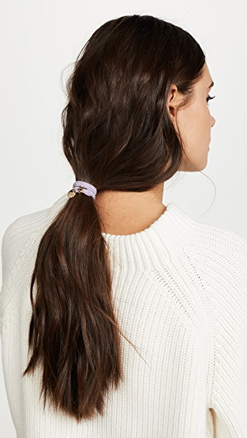 Marc Jacobs MJ Coin Bow Hair Ponytail Holder