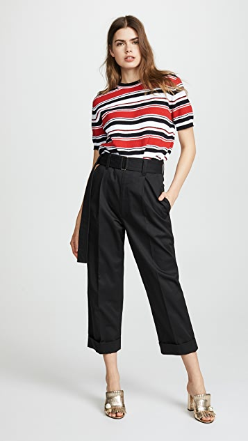 Marc Jacobs Wide Leg Pants with Belt