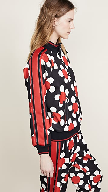 Marc Jacobs Daisy Printed Track Jacket