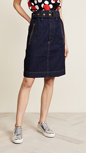 96af8b1fb Marc Jacobs Denim Skirt with Zip Pockets | SHOPBOP