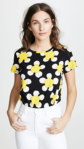 Marc Jacobs Printed Classic Tee - Yellow Multi
