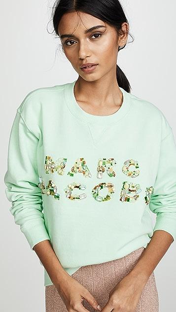 Marc Jacobs Толстовка с роскошной декоративной отделкой