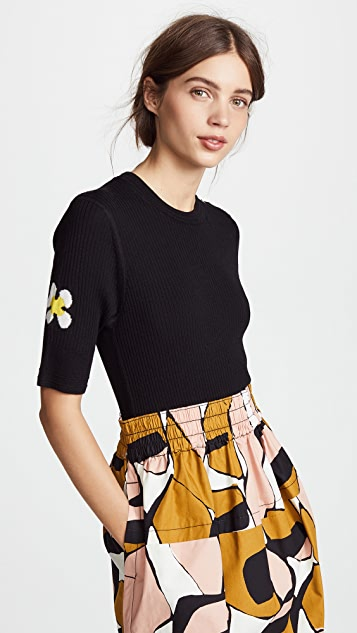 Marc Jacobs Wool Crew Neck Top