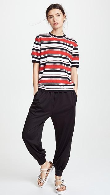Marc Jacobs Mock Neck T-Shirt
