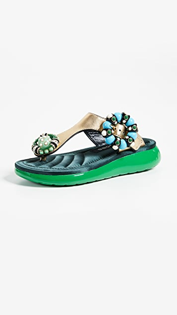 Marc Jacobs Mabel Embellished Sandals