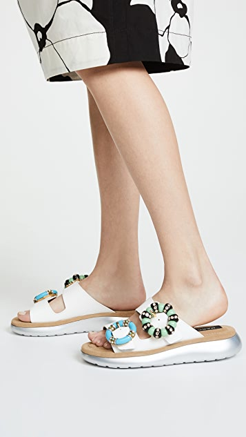 Marc Jacobs Sage Embellished Sandals
