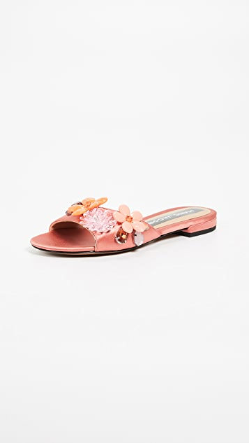 Marc Jacobs Clara Embellished Slides