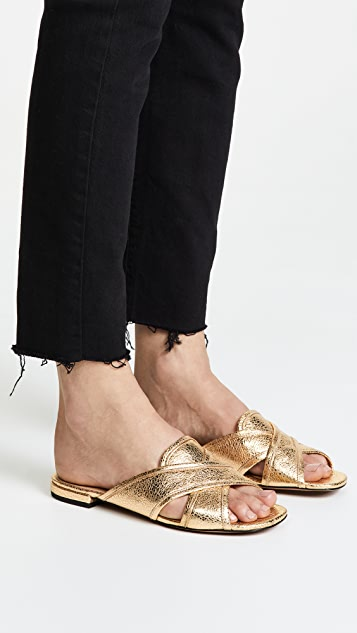 Aurora metallic leather sandals Marc Jacobs Low Cost Discounts KT1PeTpCP