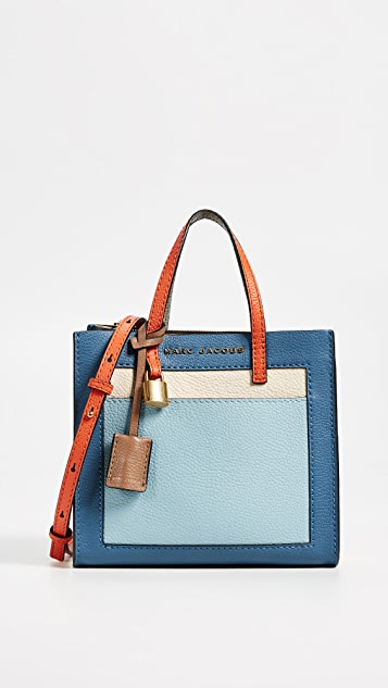Marc Jacobs Mini Grind Colorblocked Tote