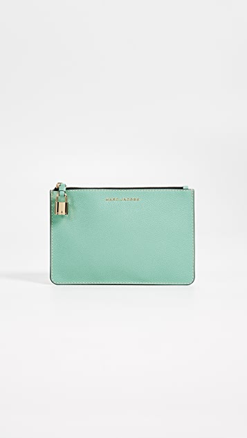Marc Jacobs The Grind Medium Pouch - Surf