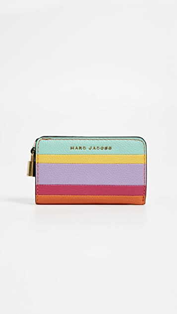 f2ba40739 Marc Jacobs The Grind Colorblocked Compact Wallet | SHOPBOP