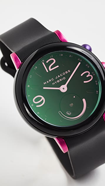 Marc Jacobs Riley Hybrid Tech Watch, 43mm