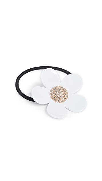 Marc Jacobs Strass Daisy Pony Holder