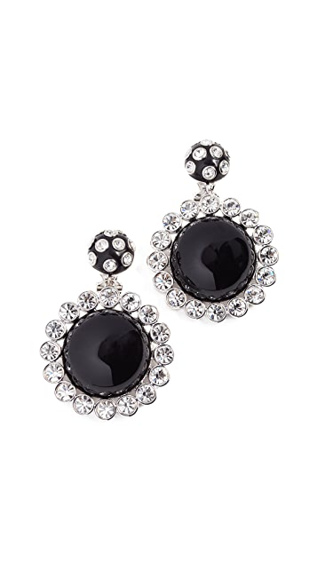 Marc Jacobs Stone Statement Earrings