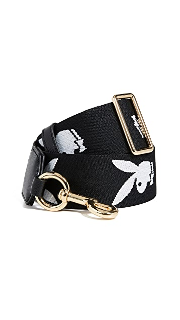 The Marc Jacobs Playboy Webbing Handbag Strap