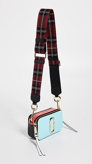 Marc Jacobs Tartan Webbing Handbag Strap