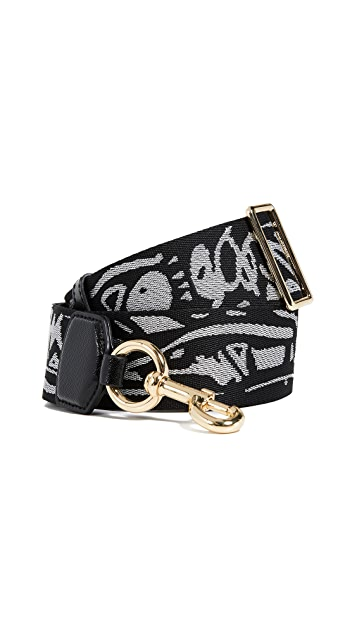 The Marc Jacobs Graffiti Webbing Handbag Strap