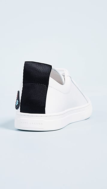 Marc Jacobs Love Embellished Empire Sneakers