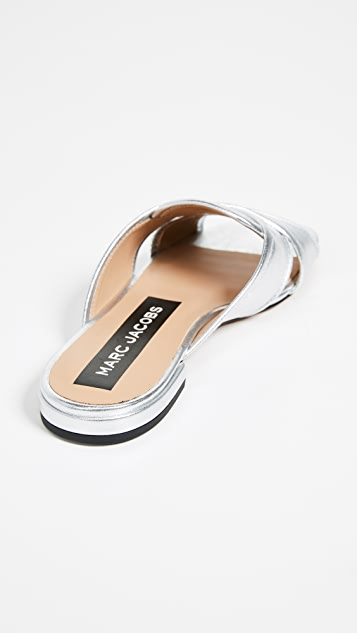 Marc Jacobs Aurora Flat Sandals